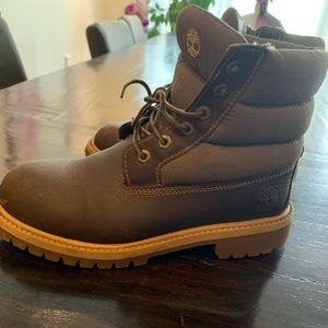Timberland winter boots size 3 snow boots boys